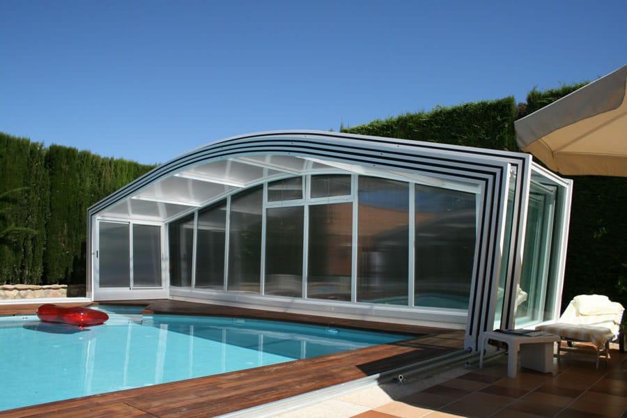 Cubierta Olimpo para piscina en Pontevedra
