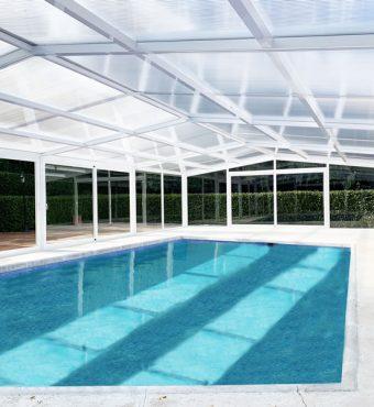 Ourense: Cubierta Vulcano para piscina