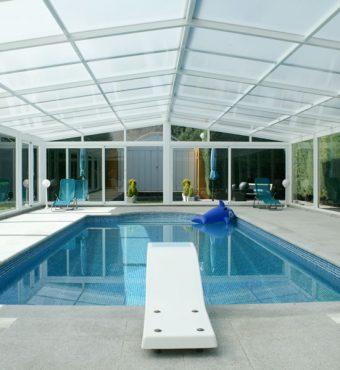 San Sebastian: Cubierta Vulcano para piscina