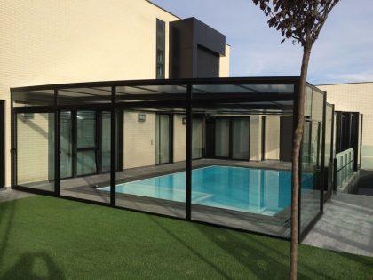Valencia: Cubierta Olimpo para piscina