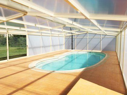 Huelva: Cubierta Vulcano para piscina