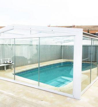 Pontevedra: Cubierta Vulcano para piscina