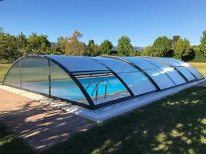 cubierta baja para piscina, Teide