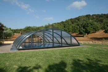 Cubiertas para piscinas semi altas Teide Plus